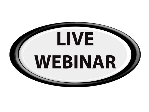 Live Monthly Webinars with Mace Horoff